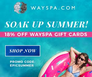 WaySpa Soak Up Summer Sale