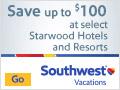 Up to $100 off at Starwood Hotels & Resorts