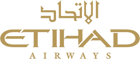 Etihad Airways Abu Dhabi UAE Logo Design and the First Class Residence Apartment on the Airbus A380