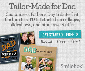 Create Father's Day slideshows and collages with Smilebox.
