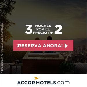 Accor Hoteles ofrece descuentos especiales en hoteles por todo el mundo.