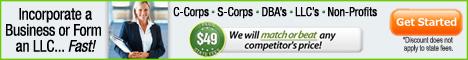 CorpNet® 10% Off Any Service