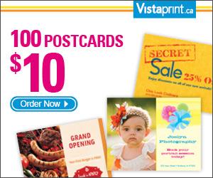 Get 100 Postcards for $10