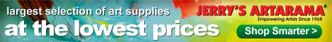 The lowest online art supply prices, guaranteed!