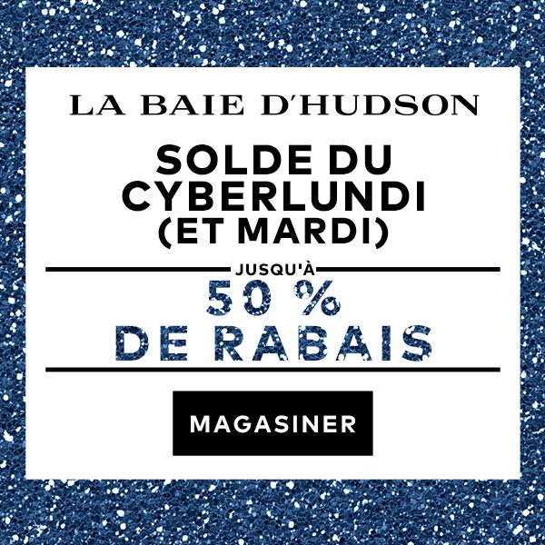 (12/1-12/2) Solde du cyber lundi (et mardi) : jusqu'à 50 % de rabais à labaie.com