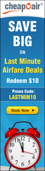 Save BIG on Last Minute Travel Deals