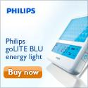 Philips goLITE BLU lighting