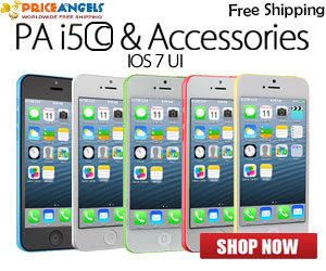 PA i5C Cellphone and Multicolor Case for iPhone 5C , Free Shipping.