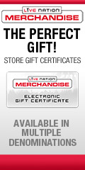 Live Nation Store - Gift Certificates
