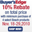 Purchase a Bosch Range & OTR Microwave and receive