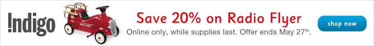Save 20% on Radio Flyer!