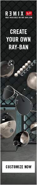 Ray Ban Remix Customizable Sunglasses