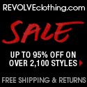 Up to 95% off on over 2,100 Styles at REVOLVEclothing.com (while quantities last)
