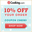 Cooking.com ships to APO/FPO addresses!