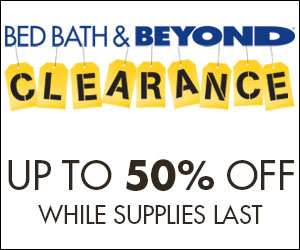 Shop Bed Bath and Beyond Clearance