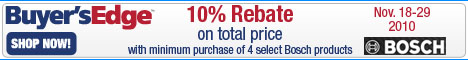 Buy four to eight select Bosch appliances and rece