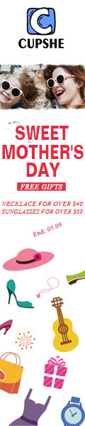 Free Gifts Available!Necklace for Over $40!Sunglasses for Over $88!