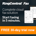Try RingCentral Fax FREE for 30 Days