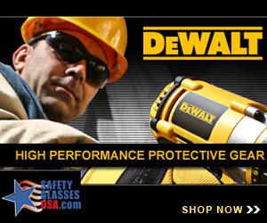 DeWalt Safety Glasses