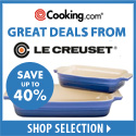 Le Creuset - 40% Off Select Items