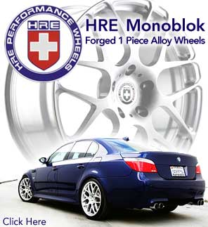 HRE Monoblock 1pc Racing Wheels
