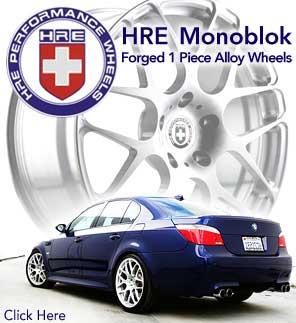 HRE Monoblock 1pc Racing Wheels