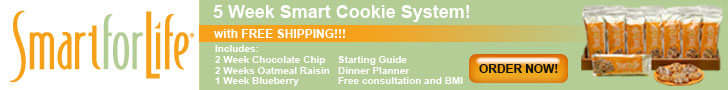 Smart for Life Cookie Diet Free Shipping