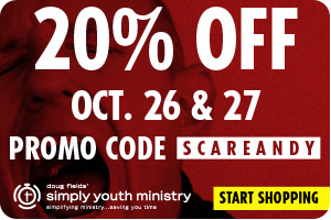 SimplyYouthMinistry Scare Andy Sale