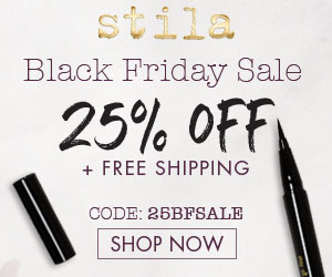 25% Off Site-Wide + Free Shipping at StilaCosmetics.com
