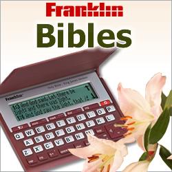 Franklin's Handheld Bibles