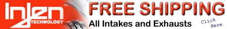 Injen Cold Air Intake Kits - Free Shipping
