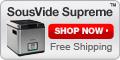 Shop SousVide Supreme - Free shipping!