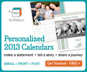 The new 2013 calendar collection has arrived! Create personalized calendars with Smilebox.