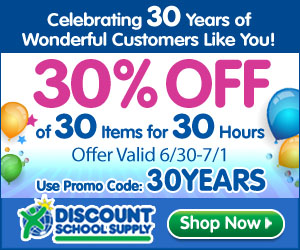 Save 30% On 30 Items For 30 Hours & Get Free Shipping On Orders Over $79!