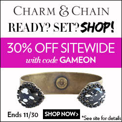 cyber monday deal: charm & chain