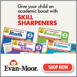 PreK-6th grade Skill Sharpeners