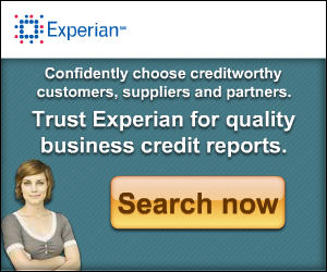 Trust Experian for quality business credit reports