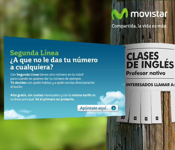 2º línea de Movistar
