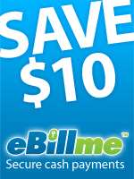 Ebillme Save $10 of $65, other couopn stackable
