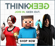 Shop Think Geek for Unique & Unusual Gifts!