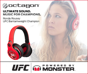 The Official Headphone of UFC. Ultimate Sound. Music for Champions.