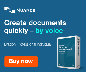 Get Dragon Naturally Speaking and write like a pro using only your voice