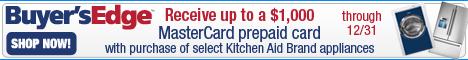 $1000 Rebate on Kitchen-Aid