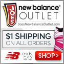 Free Shipping On All Orders at Joe's New Balance Outlet - Hurry Offer Ends 3/18/13!