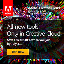 Upgrade from Creative Suite to Adobe Creative Cloud and Get a 40%-60% Discount!