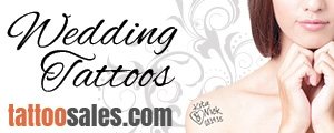 Temporary Tattoos for Weddings!