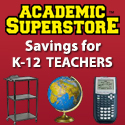 Teachers Save Big at Academic Superstore