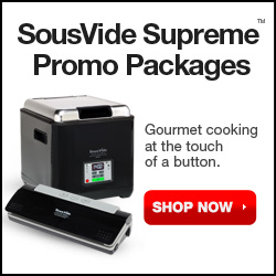 SousVide Supreme Demi Promo Package. Shop Now.