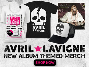 New Avril Lavigne Album Merchandise!