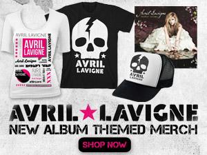 New Avril Lavigne Album Merchandise!